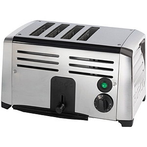 Burco TSSL14 Stainless Steel Toaster