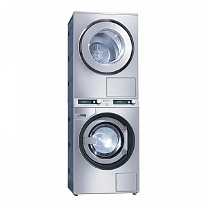 MIELE PWT6089 STACKED WASHER and PT7189 DRYER COMBINATION