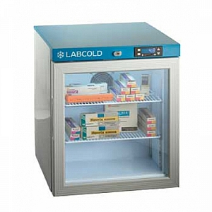 Labcold RLDG0110 36L Tabletop Glass Door Pharmacy and Vaccine Refrigerator